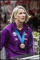 Queensland Netball Firebirds parade day-34 (19901148056).jpg