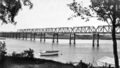 Queensland State Archives 311 Looking from Alexander Park towards the Railway Bridge Burnett River Bundaberg c 1931.png