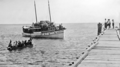 Queensland State Archives 999 Merinda with Tourists arriving at Green Island near Cairns Great Barrier Reef c 1931.png