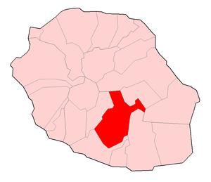Le Tampon - Image: Réunion Tampon