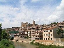 74bb79700bf61 The Matarranya river flowing through the town of Valderrobres (Vall-de -Roures)