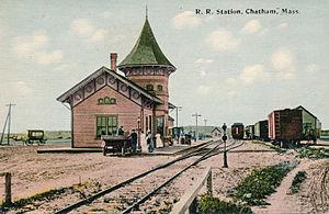 Chatham Railroad Station - The station around 1910
