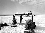R4D with engine warming equipment in Antarctica c1947.jpg