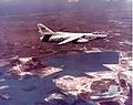 RA-3B Skywarrior of VAP-61 over Naval Station Guam in 1960s.jpg