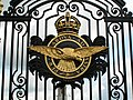 RAF Badge on Cranwell gates.jpg