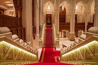 Royal Opera House Muscat - Image: ROHM Main Lobby by Khalid Al Busaidi
