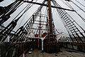 RRS Discovery Dundee Main mast rigging.JPG