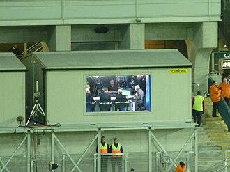 RTÉ Sport - The RTÉ soccer panel at Croke Park