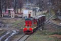 RZD old ChME3-548 shunting at Podmoskovnaya station, before mass rebuild (38930106802).jpg