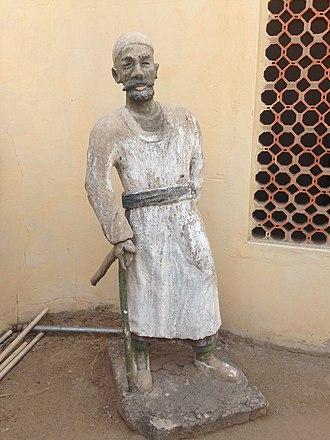 Rabih az-Zubayr - Statue of Rabih at the National Museum Maiduguri, Borno, Nigeria