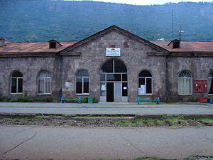 Railroad station in Alaverdi (Lori, Armenia).JPG
