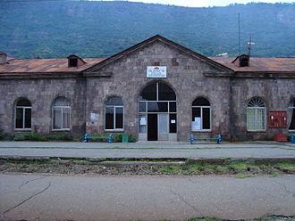 Alaverdi, Armenia - Alaverdi railway station
