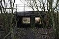 Railway Bridge near Jill Lane, Northorpe - geograph.org.uk - 1120851.jpg