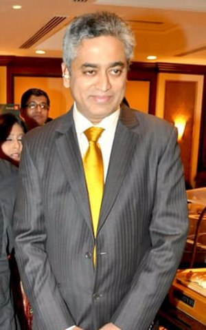 Rajdeep Sardesai - Sardesai in 2010