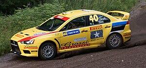 Pirelli Star Driver - Ott Tänak driving one of the Pirelli Star Driver cars on the 2010 Rally Finland.