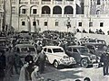 Rallye Monte-Carlo 1938, les concurrents devant le palais princier - 2.jpg