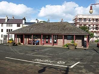 Ramsey railway station (MER) - Image: Ramsey station (geograph 3147217)