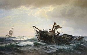 Carl Rasmussen - Shipwrecked Yacht