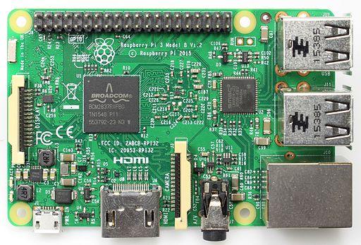 Rasperry pi 3 model b v1.3 bot