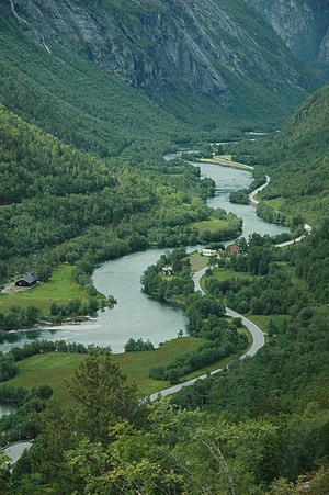 Rauma (river) - View of the river