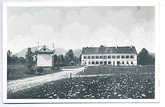 Vrbje, Žalec - Old postcard of Vrbje