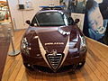Red Alfa Romeo Italian Police car photo-1.JPG