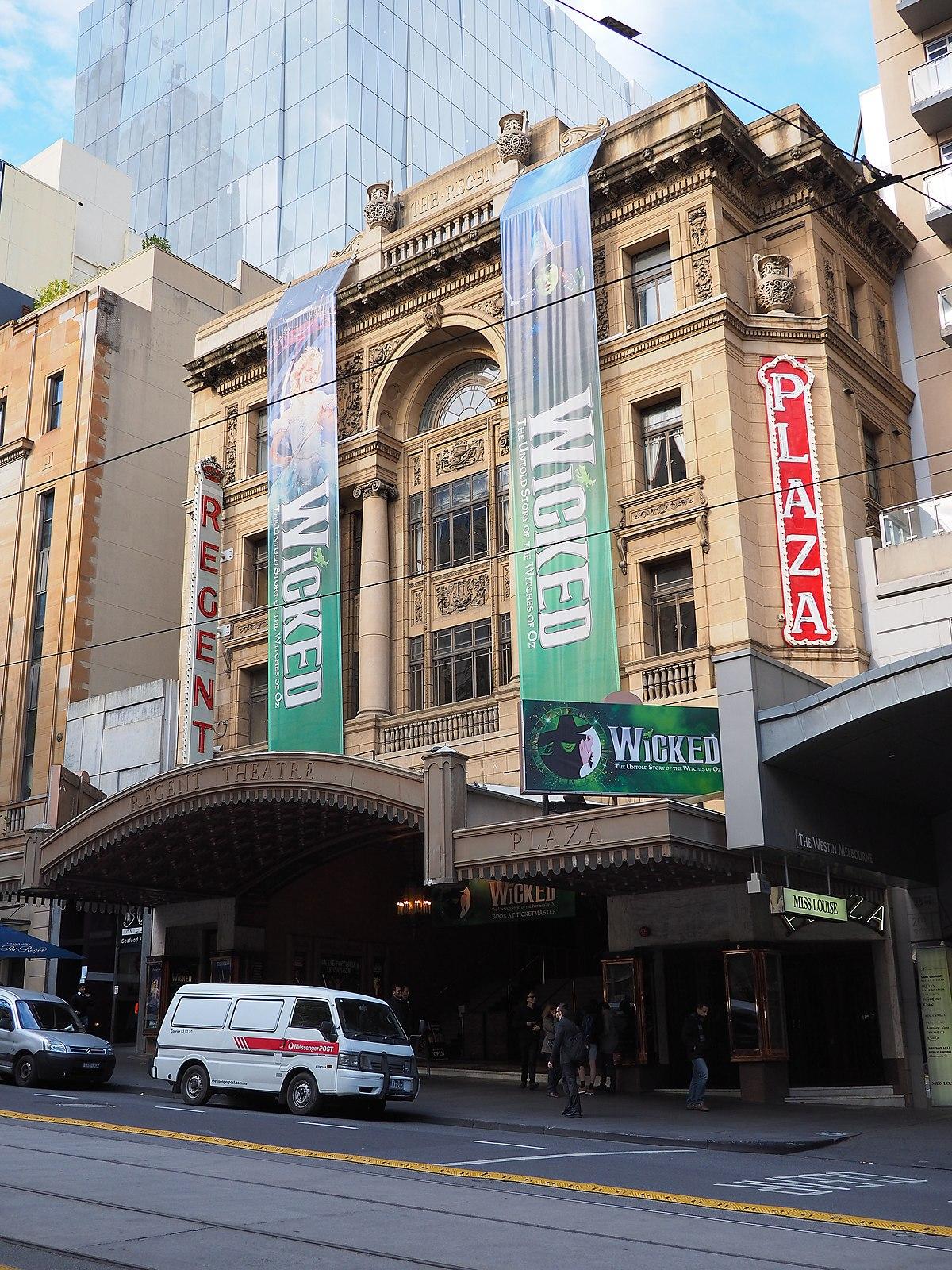 Regent Theatre, Melbourne - Wikipedia