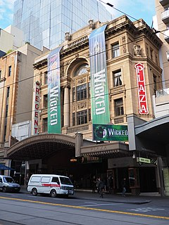 Regent Theatre, Melbourne theatre and cinema in Melbourne, Victoria, Australia