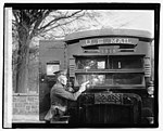 Regulation Army 44 Colt and its effect on bullet proof glass used in the new armoured postal trucks which it is proposed to put into use as a further protection of valuable mails, 12-1-21 LOC npcc.05467.jpg