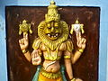 Relief of Lord Narasimha at Bhadrachalam Temple.jpg
