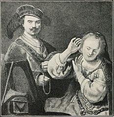 Rembrandt and his Wife Saskia
