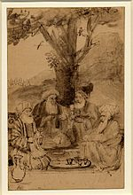 Rembrandt Four Orientals Seated under a Tree.jpg