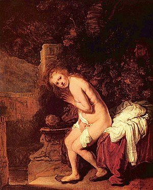 Susanna and the Elders (Rembrandt) - Image: Rembrandt Harmensz. van Rijn 151