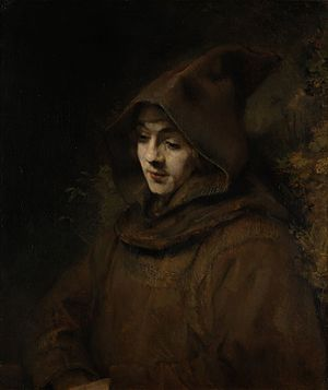 Rembrandt - Rembrandt's son Titus, as a monk, 1660