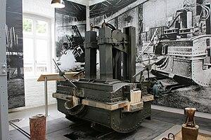 Paul Héroult - 1905 Heroult electric arc DC furnace