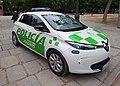 Renault Zoe eléctrico, Policía Municipal de Madrid, Unidad de Medioambiente.jpg