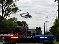Rescue helicopter about to touchdown - Flickr - Highway Patrol Images.jpg