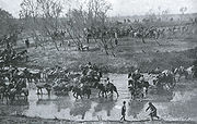 Retreat of the Russian Army after the Battle of Mukden