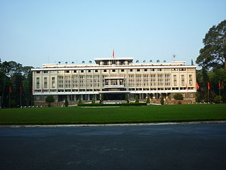 District 1, Ho Chi Minh City - Image: Reunification Palace former Presidential Palace