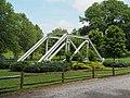 Reused segment of the historic Fieldale Iron Bridge in Fieldale Park.jpg
