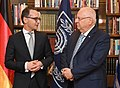 Reuven Rivlin at a meeting with Heiko Maas, March 2018 (6396).jpg