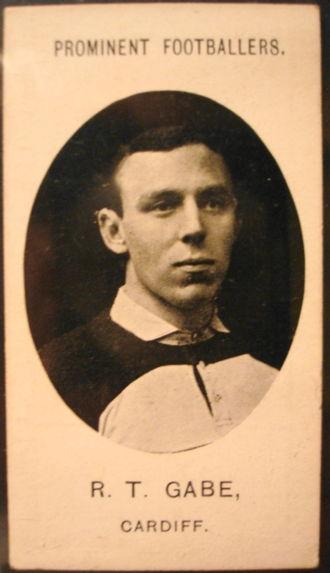Rhys Gabe - Gabe in his Newport jersey