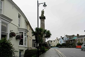 Richard Lander - The Richard Lander Monument, Truro
