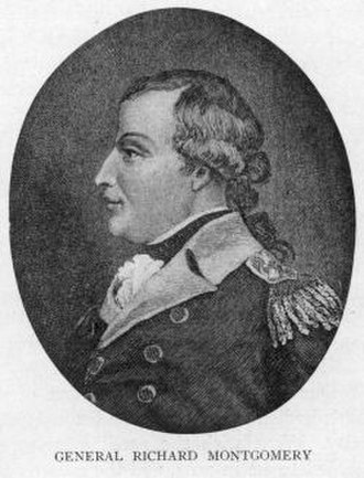 Invasion of Quebec (1775) - Brigadier General Richard Montgomery
