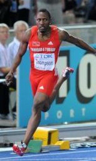 2007 NACAC Championships in Athletics - Richard Thompson won the men's 100 m gold medal.