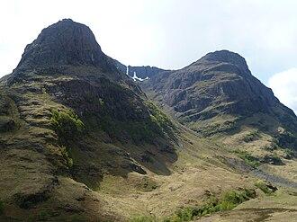 National Trust for Scotland - Image: Ridges of Gearr Aenoch and Aonach Dubh, Glencoe