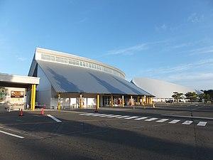 Roadside station Ogata and Polder Museum 20170916.jpg