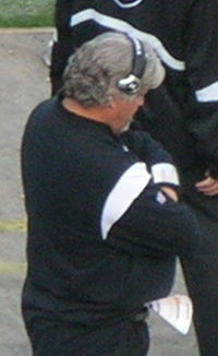 Rob Ryan at Falcons at Raiders 2008-11-02-08.JPG