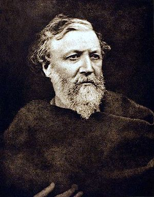 Photogravure of Robert Browning, 1865, printed...