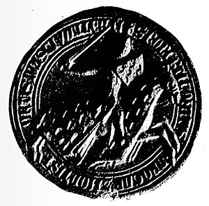 Robert IV, Count of Dreux - Seal of Robert IV of Dreux